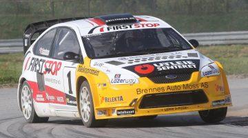Isachen Rally car