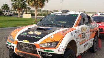 Abu Dhabi race car