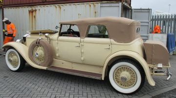 Vintage Rolls Royce shipped to Bonhams auction in USA