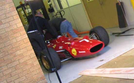 Shell Farrari F1 advert